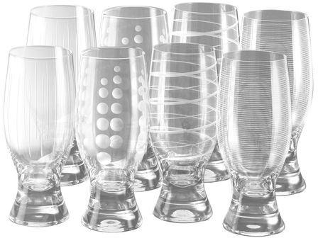 Mikasa Cheers Selections Set of 8 Tumbler Glasses