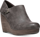Dr. Scholl's Honor Platform Wedge Booties