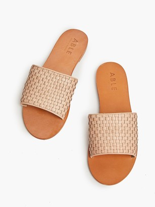 ABLE Oliveira Woven Sandal