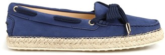 Tod's Braided Sole Gommini Loafers
