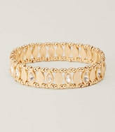 LOFT Marquise Metallic Stretch Bracelet