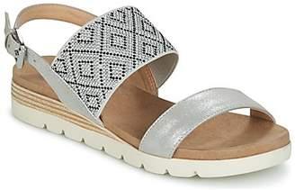 Caprice VAT women's Sandals in Silver
