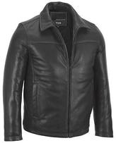 Wilsons Leather Mens Open Bottom Leather Jacket W/ Thinsulate Lining