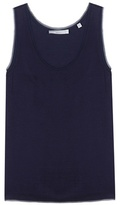 Vince Chiffon-trimmed tank top