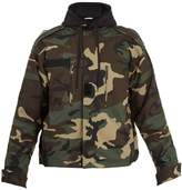 Vetements Commando hooded camouflage-print jacket