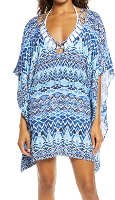 La Blanca Oasis Ikat Tunic Cover-Up