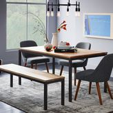 west elm Box Frame Dining Table - Wood