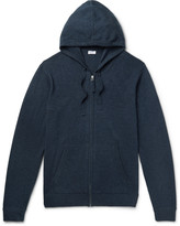 Schiesser - Julius Wool And Cashmere-blend Zip-up Hoodie