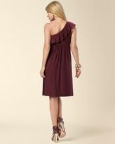 Soma Intimates Flounced One Shoulder Dress