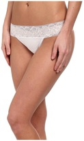 OnGossamer Cabana Cotton Breeze Thong 022853