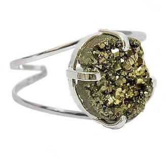 Tiana Jewel Marly Pyrite Gemstone Bracelet Silver