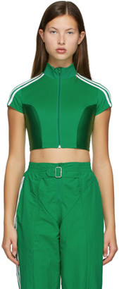adidas Green Paolina Russo Edition Crop Top