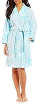 Lauren Ralph Lauren Paisley Terry Kimono Wrap Robe
