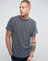Bellfield T-Shirt In Jacquard