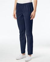 Karen Scott Petite Corduroy Pants, Only at Macy's