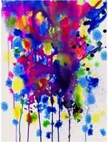 Urban Road Colour Bomb Canvas Print, 60x90cm