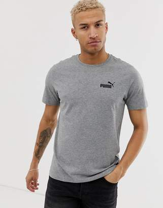 Puma Essentials small logo t-shirt in grey