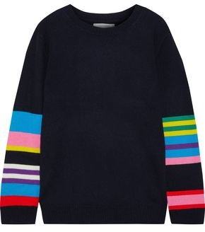 Chinti and Parker Chinti & Parker Striped Wool And Cashmere-blend Sweater