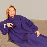 The Original Snuggie - Super Soft Fleece Blanket With Sleeves And Pockets - Purple