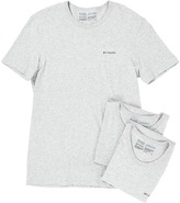 Columbia 100% Cotton Crew T-Shirt 3-Pack