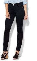 New York & Co. Soho Jeans - High-Waist SuperStretch Legging - Black - Tall