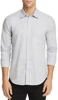 Scotch & Soda Melange Slim Fit Button-Down Shirt