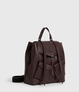 AllSaints Darcy Leather Backpack