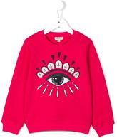 Kenzo Eye sweatshirt - kids - Cotton - 2 yrs