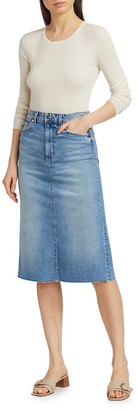 Joe's Jeans Midi Denim Skirt
