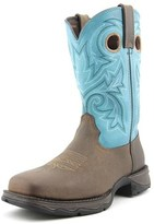Durango Lady Rebel Women Round Toe Leather Blue Western Boot.
