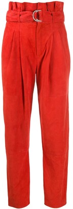 P.A.R.O.S.H. Belted High Waisted Trousers
