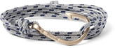 Miansai Hook Cord and Gold-Plated Wrap Bracelet