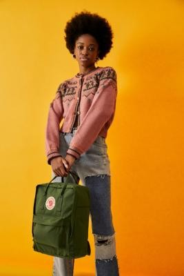 Fjallraven Kanken Spruce Green Backpack - Green ALL at Urban Outfitters