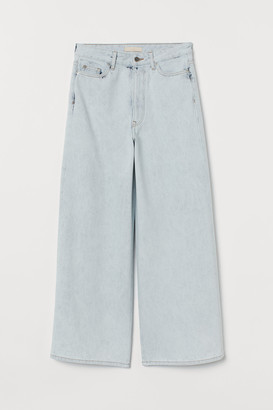 H&M Wide High Ankle Jeans