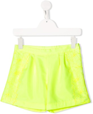 Ermanno Scervino Embroidered Slip-On Shorts