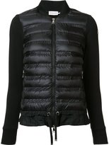 Moncler padded front jacket - women - Cotton/Feather Down/Nylon/Goose Down - L