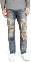 PRPS Men's 'Demon' Destroyed Slim Straight Leg Jeans