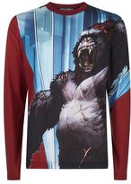 Dolce & Gabbana King Kong Long Sleeved T-shirt