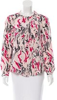 Isabel Marant Silk Pleated Top