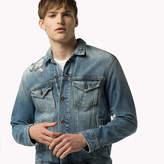 Tommy Hilfiger Destructed Denim Trucker Jacket