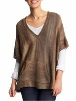Ombre Marled Poncho