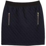 Petit Bateau Women's short skirt in padded tubic jersey