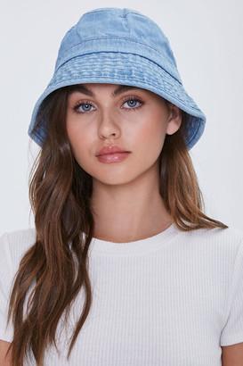 Forever 21 Denim Bucket Hat