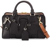 Loewe Amazona 28 Multiplication Satchel Bag, Black/Tan