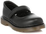 Dr. Martens Infant Black Tully Softy Leather Shoes Black