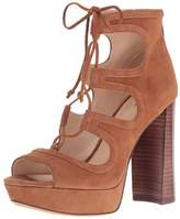Vince Camuto Womens Kamaye Suede Open Toe Special Occasion Platform Sandals.