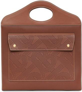 Burberry medium perforated monogram Pocket bag