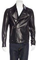 Christian Dior Leather Moto Jacket w/ Tags