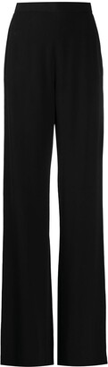 Balmain High-Waisted Wide-Leg Trousers
