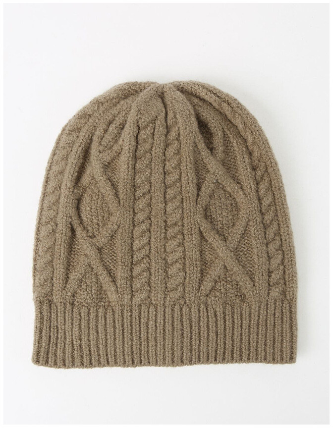 Basque Cable-Knit Beanie